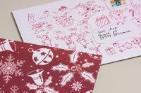 Versandverpackungen im Comic-Look - Die Briefbox Smart für Weihnachten