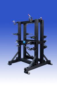 Aluquick-Vorrichtung für Pkw-Tür-Blechteile links/rechts