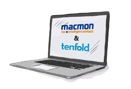 Integration von macmon NAC und tenfold security Identity management