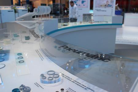 Trelleborg Innovation Days Ausstellung