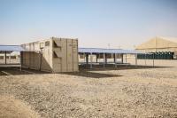 Verleiht Flügel: Diese containerbasierte Stromversorgung von Faber Infrastructure versorgt den ACE-Schulungsraum.