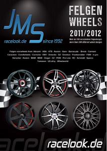 jms wheels catalog 2011 with about 400 diffrent designs