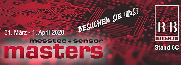 Messeteilnahme B+B Thermo-Technik bei der messtec+sensor Masters