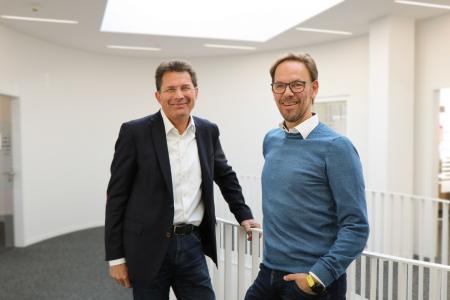 Führungsteam: CEO Frank Heidemann und COO Roland Bucher