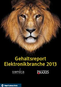 Titelseite Gehaltsreport Elektronikbranche 2013