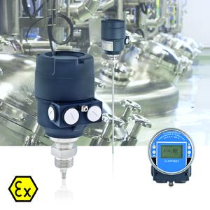The new AFRISO PulsFox PMG 10 level indicator: whether liquid or bulk solids, high-viscosity or low-viscosity, adhesive, conductive or isolating - there is a suitable probe for virtually any application so that the measuring system can be optimally tuned to the task. All versions are available as 3D CAD models (free download) (Photograph: AFRISO)