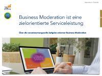 Kostenloses eBook Aufgaben der Business Moderation