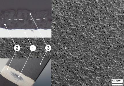 Abb1 Aufbau tribologischer METAKER Oberfläche
