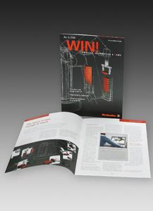 "Customer magazine ""WIN!"" - an attractive information medium on current solutions and product news from Weidmüller"