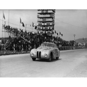 BMW 328 Mille Miglia Kamm Racing Saloon during the 1st Italian Mille Miglia Grand Prix in Brescia, April 28, 1940 (03/2010)