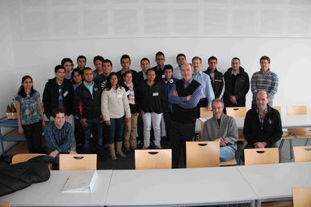 Abschlussveranstaltung zum Workshop, Aushändigung der Zertifikate