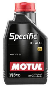 Das neue Hochleistungsmotorenöl Motul Specific LL-14 FE+ 0W20
