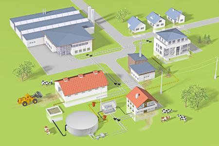 REHAU bietet Lösungen für moderne Biogasanlagen / Bild: REHAU