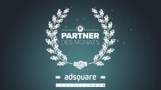 Partner des Monats Dezember 2018: adsquare - Landscape