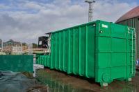 Stabil gebaut, um 35 m³ Gülle zu fassen, beschichtete Ellermann Ganderkesee das Tankinnere als Schutz mit Epoxidharz. Foto: Ellermann-Ganderkesee // Zoller-Elmshorn