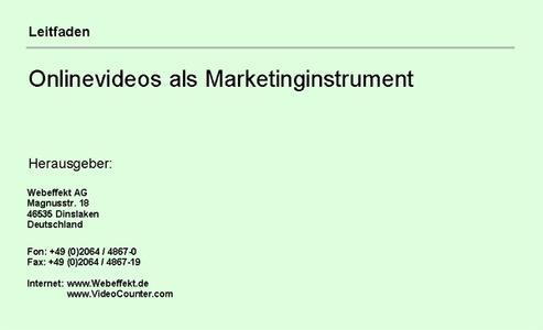 Kostenloser Leitfaden zur Kundengewinnung auf YouTube & Co.