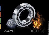 Hochtemperaturlager von Findling Wälzlager bewähren sich in industriellen Anwendungen mit bis zu mit bis zu 1.000 °C.