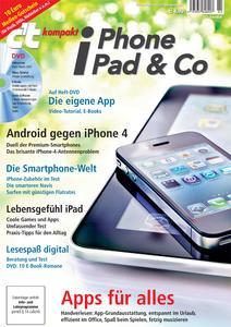 "Titelbild c't kompakt ""iPhone, iPad & Co"""