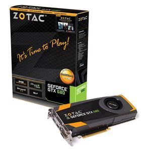 ZOTAC GeForce GTX 680, 2048 MB DDR5, PCIe 3.0, DP, HDMI, DVI