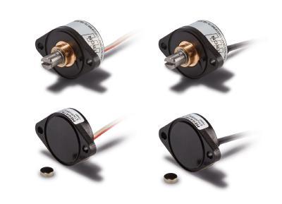 Die neuen Winkelencoder-Serien ETx25K und ETx25F von MEGATRON zeichnen sich unter anderem durch die Flanschbefestigung und eine geringe Einbautiefe aus