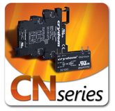 Single in-line AC and DC Output Pluggable Solid State Relays