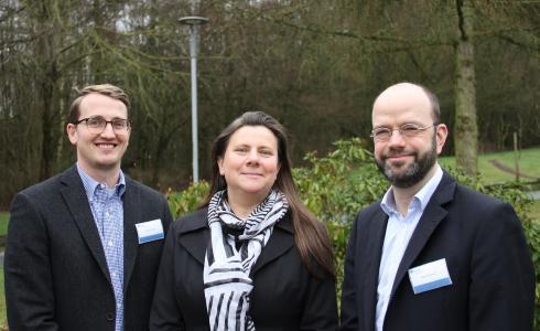 Die BGHM-Interviewpartner von links nach rechts: Burkhard Grüß, Cornelia Schöneich-Kühn und Marc Rockhoff. (Quelle: BGHM)