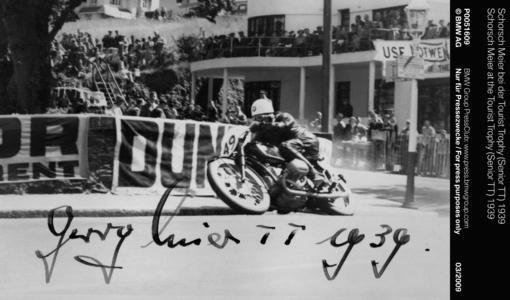 Schorsch Meier at the Tourist Trophy (Senior TT) 1939 (03/2009)