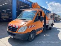 Online-Auktion Mercedes-Benz Sprinter 311 CDI mit Arbeits-Hebebühne von ESDA