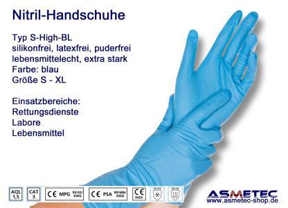 Nitril-Handschuh Typ S-High Risk