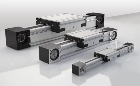 Die Rollenführungen für das mittlere Belastungssegment der Baureihe RK MonoLine sind ab sofort in den drei Baugrößen 40, 80 und 120 lieferbar
