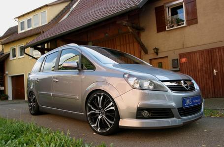 JMS Opel Zaifra B styling and tuning