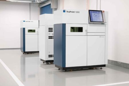 TruPrint 1000 with TruDisk 1020 – green disk laser for processing copper (source TRUMPF)
