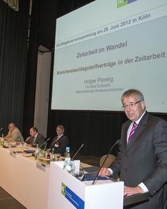 Eindeutiges iGZ-Bekenntnis zum Branchenzuschlagstarif