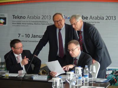 Die Premiere der ARABIA ESSEN WELDING & CUTTING wird vom 7.-10. Januar 2013 in Dubai stattfinden, zeitgleich mit den bereits etablierten Messen TEKNO ARABIA und TUBE ARABIA sowie der ARABPLAST (Bild: DVS)