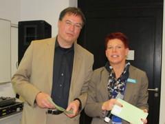 Dr. Ina Meinelt, P3N MARKETING und Bernd Reinshagen, BVMW Ch...