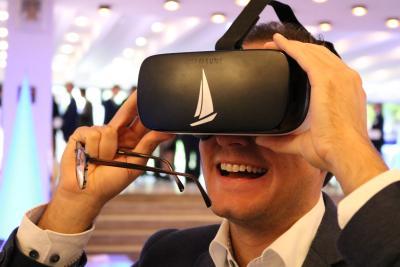 Virtuelle Welten von CURSOR erzeugen große Freude auf dem Kongressmarktplatz