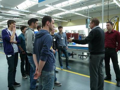 WHF Trierer Studenten auf Exkursion in Heilbronn Franken (Bildquelle Foto: © WHF GmbH)