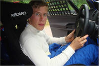 Max Sandritter greift im VW Polo Cup an