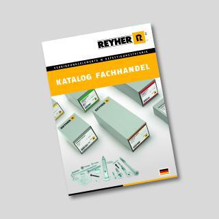 """Der neue """"Katalog Fachhandel"""" von REYHER umfasst eine branchenspezifisch zugeschnitten Auswahl an C-Teilen für den Fachhandel"""