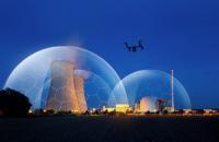 Dedrone Atomkraftwerk Drohne
