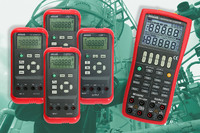 Robust measurement and calibration equipment for the process industry, in combination with calibration certificates