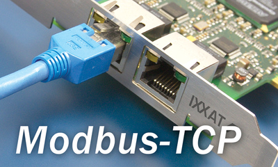 Protokollsoftware für die Entwicklung von Modbus-TCP Slave Geräten