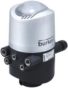 Die neue Kommunikationsschnittstelle erweitert die Möglichkeiten der bewährten Kombination aus Ventil und Steuerkopf Typ 8681 enorm. (Quelle: Bürkert Fluid Control Systems)