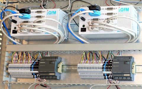 Peakanalyzer DIN rail module