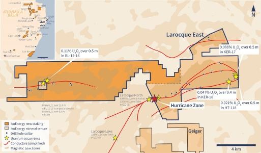 Figure 1 – Expanded Larocque East Property Map