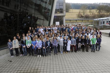 Alle Teilnehmer des 14. Regionalwettbewerbs Heilbronn-Franken 2012