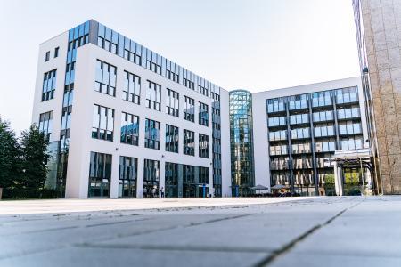 Die Büroräume im Regensburger Gewerbepark. Quelle: Digitalwerk GmbH