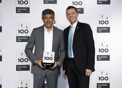 Verleihung Top 100 - Bildquelle: KD Busch / compamedia