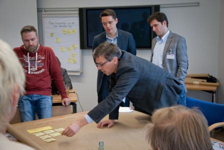 Kreatives Lösungsfinden der Teilnehmer