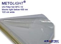 METOLIGHT UV-Filterfolie SFC-10